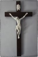 Wenge Wood Crucifix 800 x 400 mm