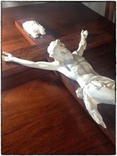 Jarrah Wooden Crucifix