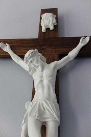 American Walnut Crucifix - Beautiful