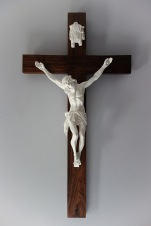 American Walnut Crucifix - Wall Hanging