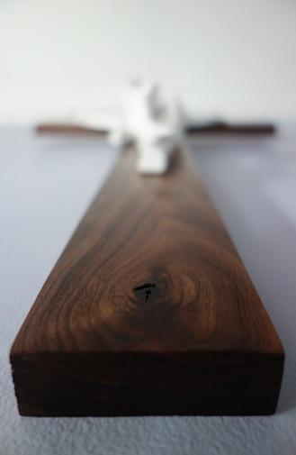 American Walnut Crucifix