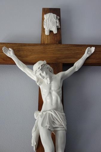 Light American Walnut Crucifix - Beautiful